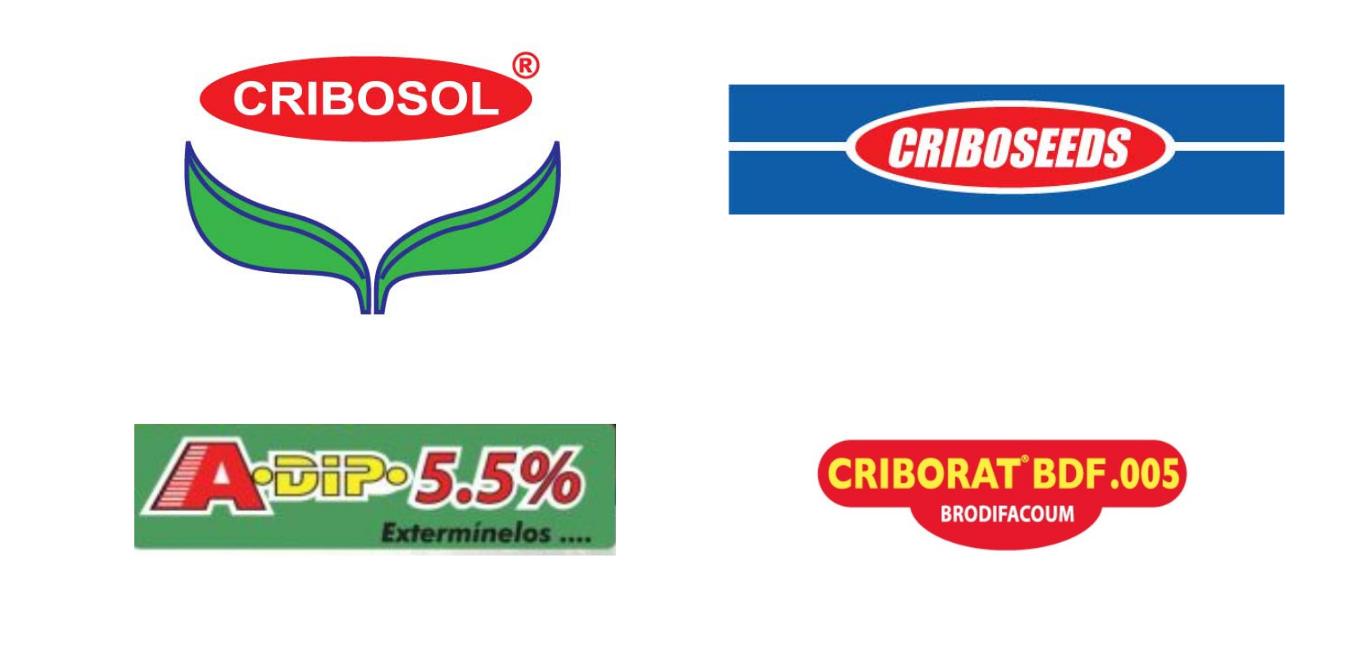 marcas cribos cribosol criboseeds adipx criborat